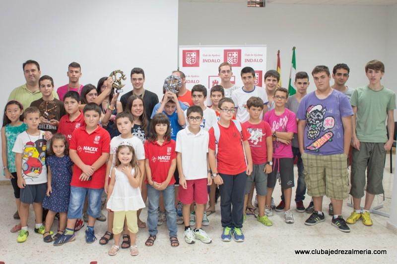 Campeonato Oficial Provincial Juvenil por Equipos de Almeria 2013 en el club