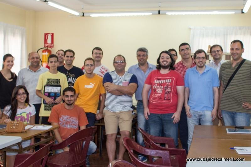 Finaliza el curso de Monitor Provincial de 2013 en el Club