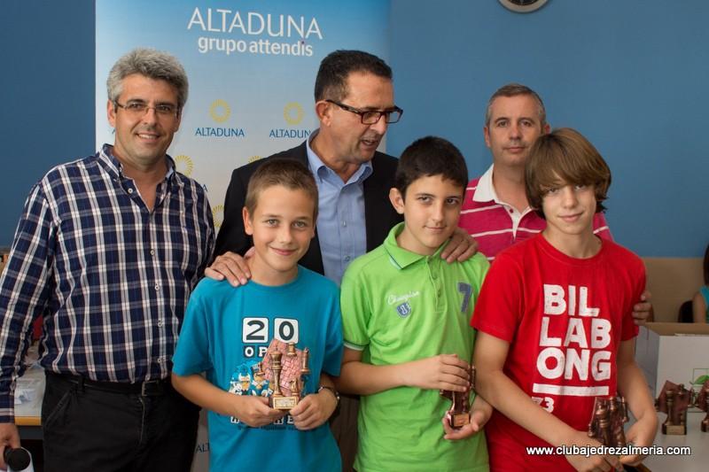 Camilo gana el VI Torneo Infantil de Altaduna-Saladares