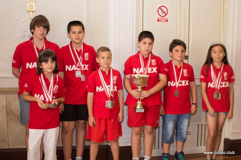Entrega de trofeos de los XXIX Juegos Municipales 2014