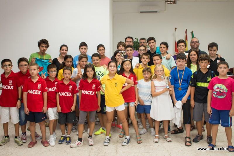El Club acoge de nuevo el Campeonato Provincial Juvenil por Equipos