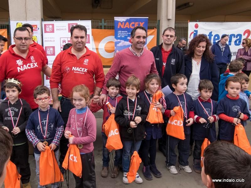 El Torneo de Navidad cierra el Circuito de Ajedrez Nacex con gran cantidad de trofeos y regalos para los niños
