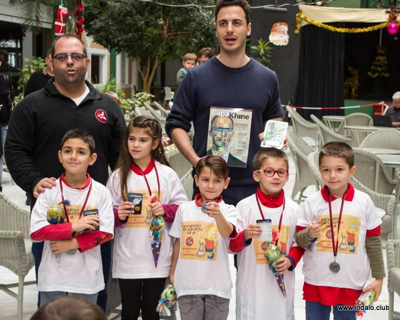 Las escuelas del club ganan el II Torneo de Escuelas de Roquetas de Mar