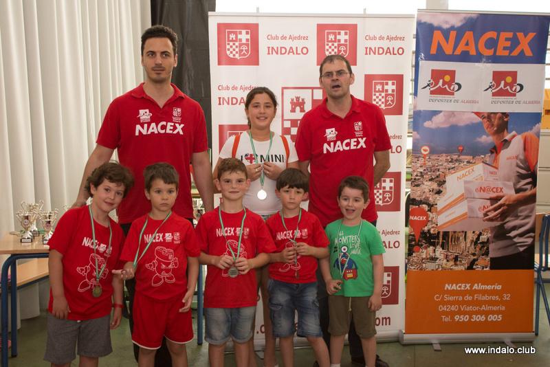 Torneo Fin de Curso de las escuelas del Club de Ajedrez Indalo 2016