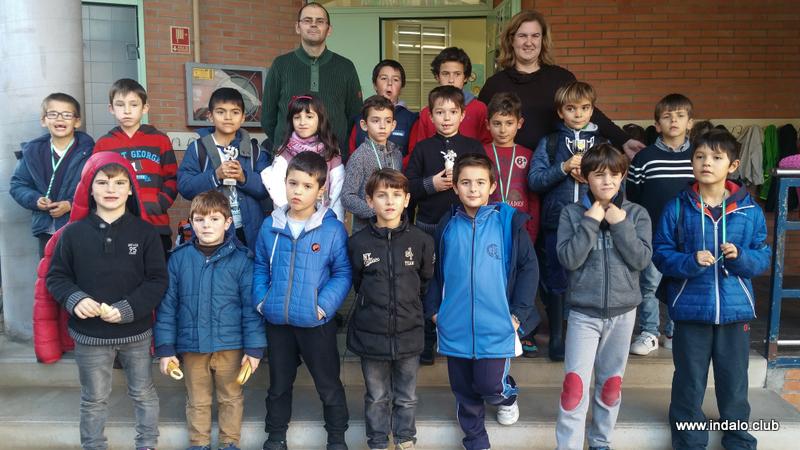 Los jugadores del Colegio Lope de Vega destacan en el tercer torneo del centro