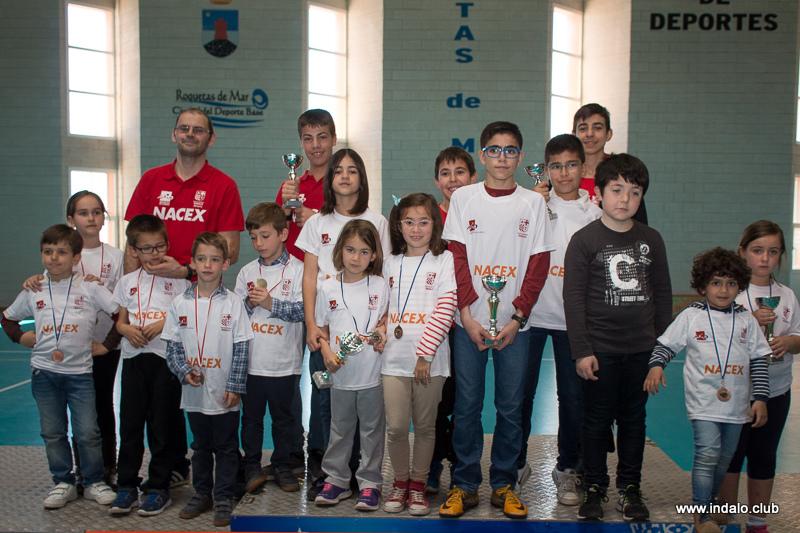 Los alumnos de las escuelas del club disfrutan del Circuito Escolar 2017