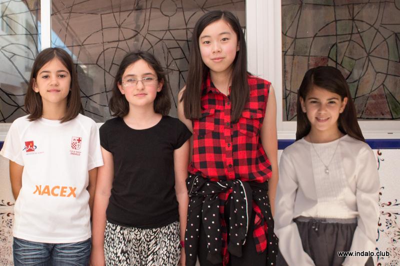 Las chicas ganan el municipal por equipos 2017