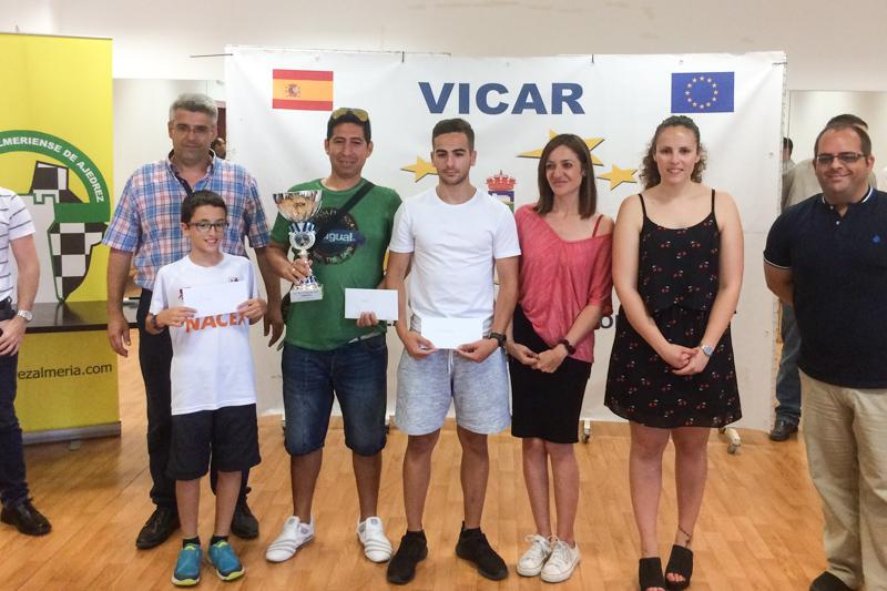 Ciro tercero general, Carmen, Jose Manuel y Aitana segundos por categorías en Vicar