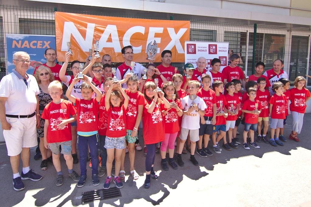 Torneo Fin de Curso de las escuelas del Club de Ajedrez Indalo 2018