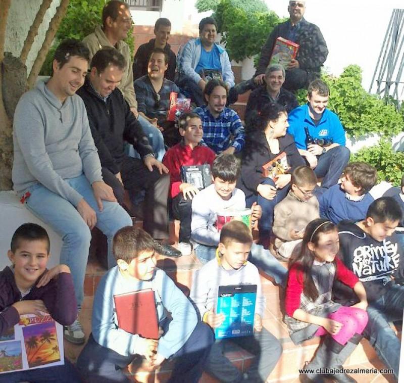 Todos contentos en el Torneo de Navidad de Huercal de Almería