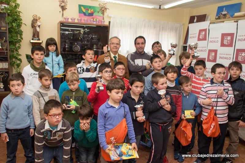 I Trofeo Infantil de Navidad del Club de Ajedrez Indalo