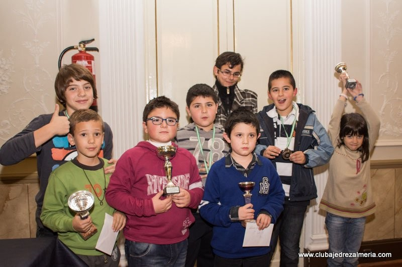 Gran éxito de nuestros jugadores en el IV Torneo Internacional Ciudad de Almería
