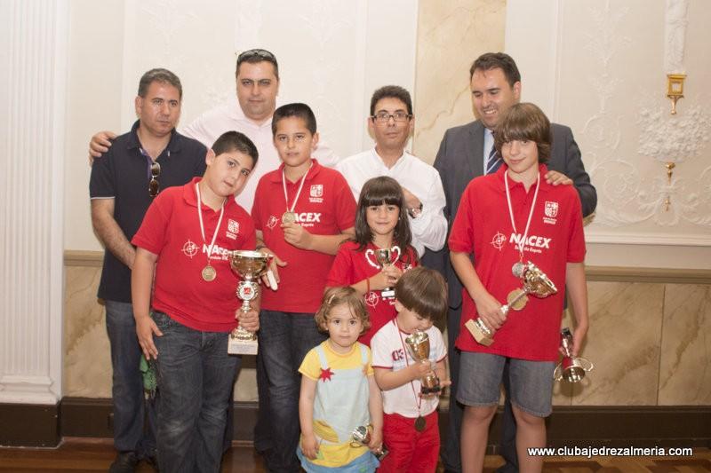 Entrega de trofeos de los XXVIII Juegos Municipales