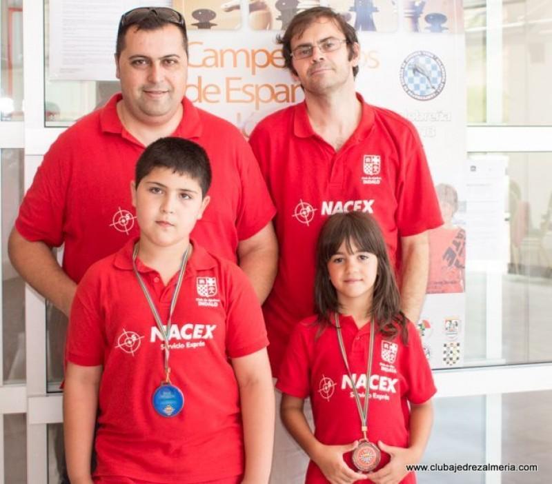 El Club Indalo participa en los Campeonatos de España 2013 en Salobreña