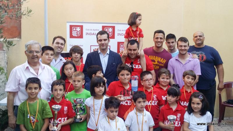 El II Torneo de Fiestas de Ciudad Jardin cierra el curso de las escuelas del Club 2014