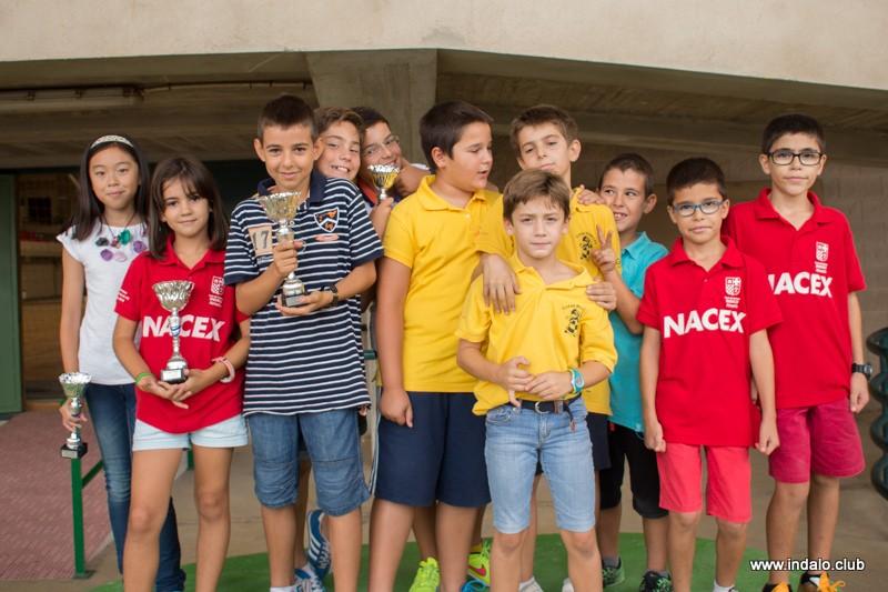 3 campeones y 4 podios en el II Torneo de Promoción de Roquetas