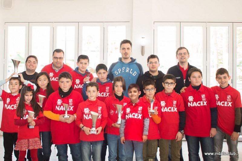 Gran éxito de resultados y becas en el clasificatorio para el Andaluz 2015