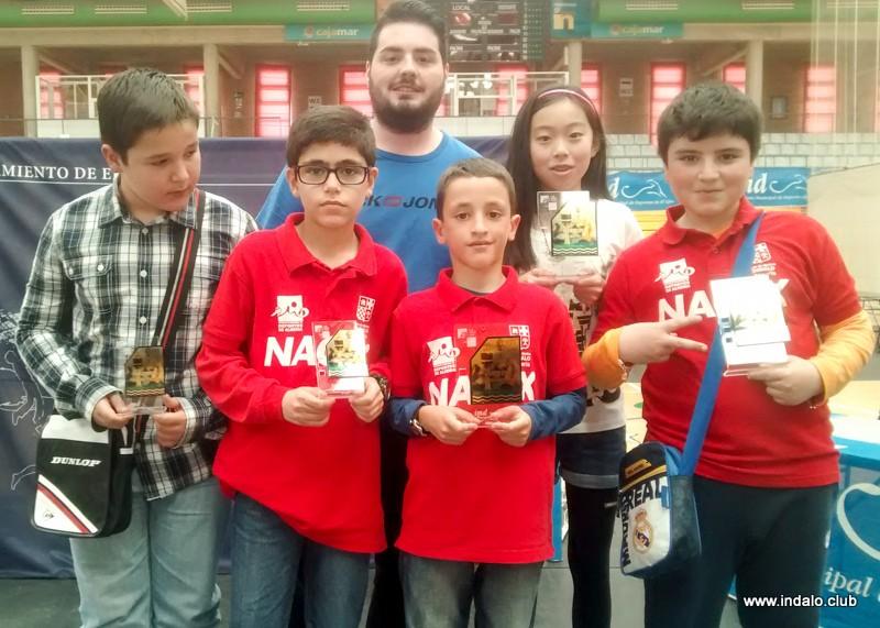 Ciro, Alberto y Laura campeones del Circuito Escolar 2015