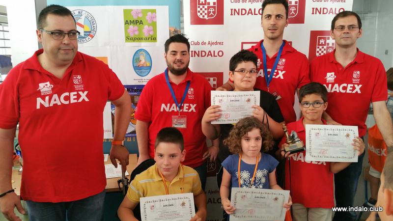 Torneo Fin de Curso de las escuelas del Club de Ajedrez Indalo 2015