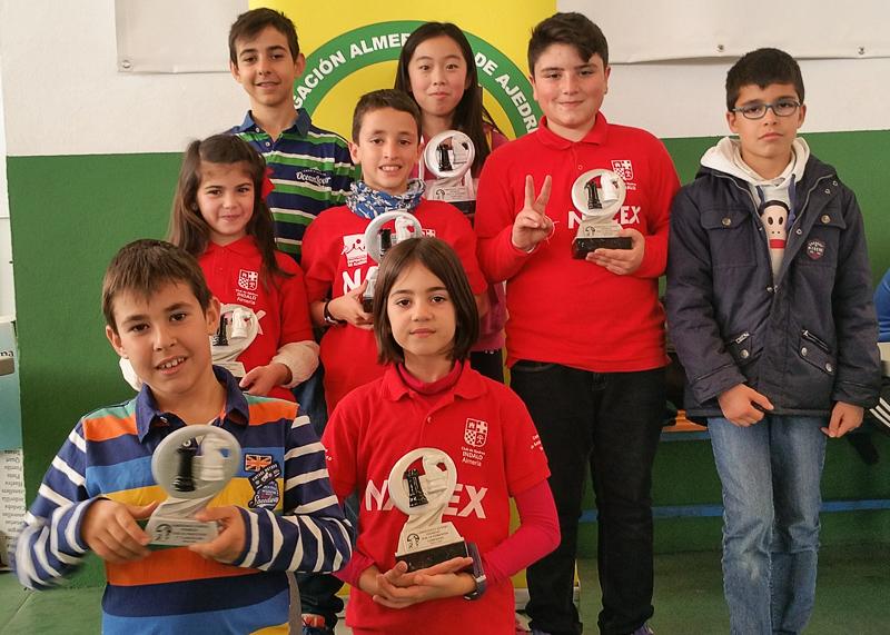Éxito del Club Indalo en el Campeonato Provincial por Edades