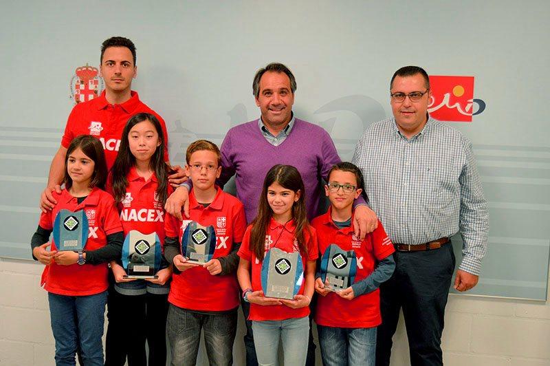 2 campeonas, 2 subcampeones y 1 tercero en el Andaluz de ajedrez