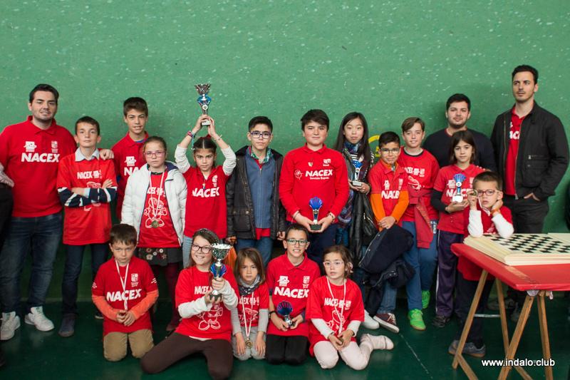Los alumnos de las escuelas del club se divierten en el Circuito Escolar 2016