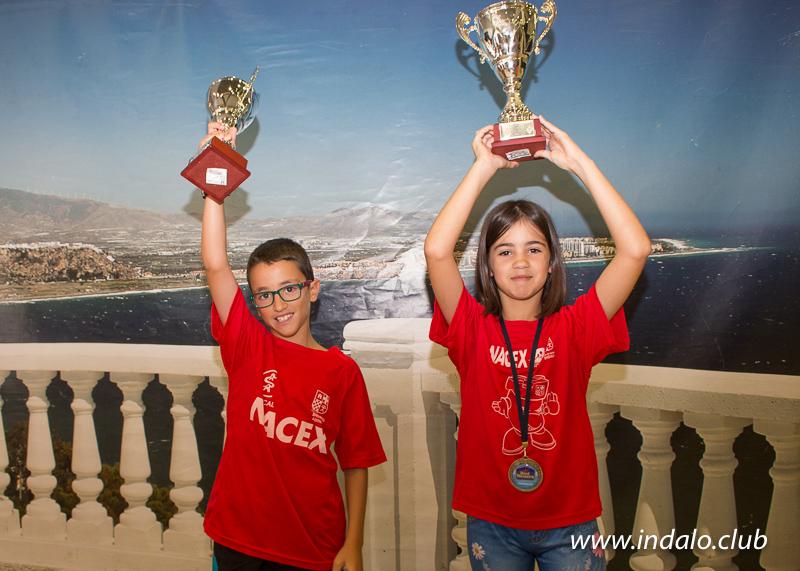 Aitana Subcampeona y Ciro tercero en el Campeonato de España Benjamín