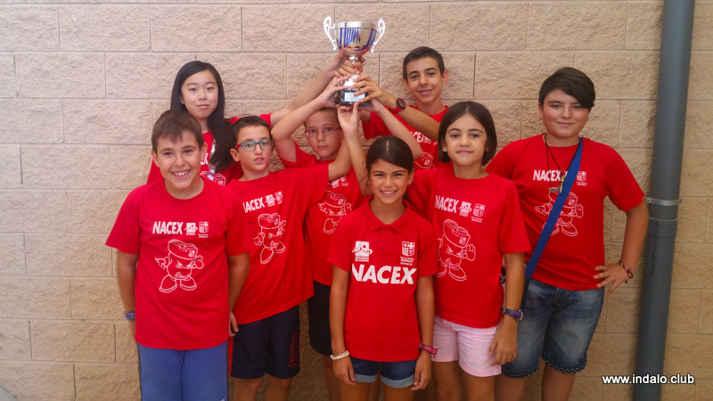 Indalo Nacex campeón del Juvenil Provincial por Equipos