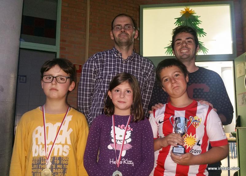 Buenas partidas en el segundo torneo del Colegio Lope de Vega