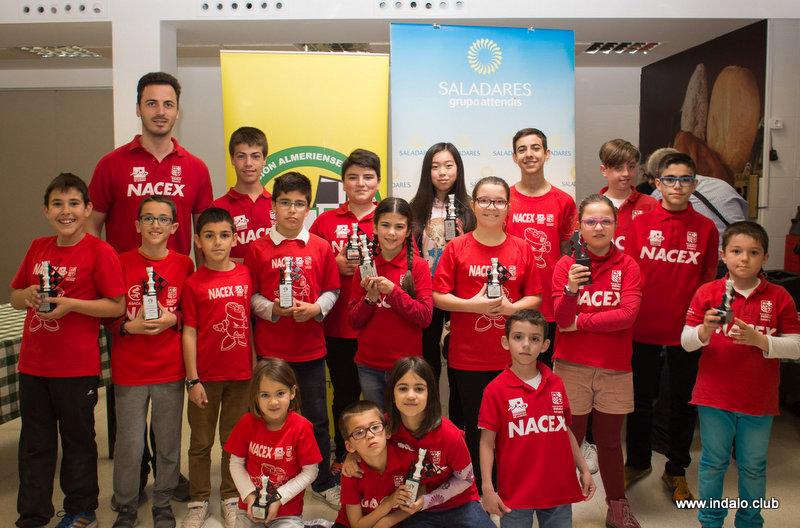 Éxito del Club en el clasificatorio para el andaluz, el rojo con Nacex inundan la entrega de premios