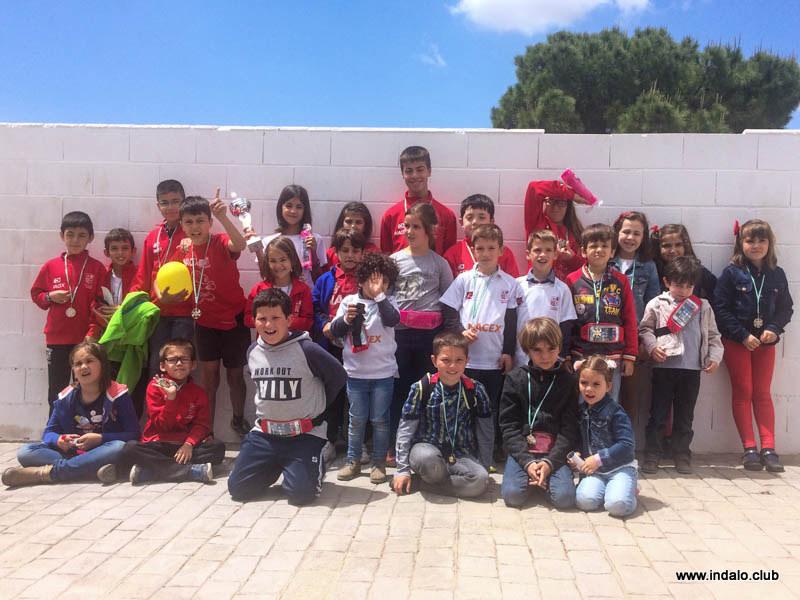 Aitana campeona del torneo de Fiestas de Huercal de Almeria