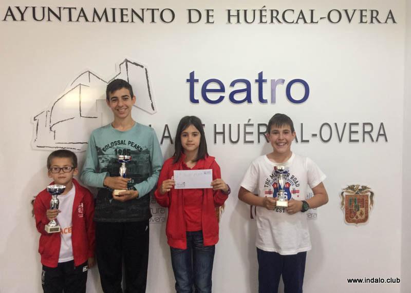Premios para los nuestros en el torneo de Huercal-Overa