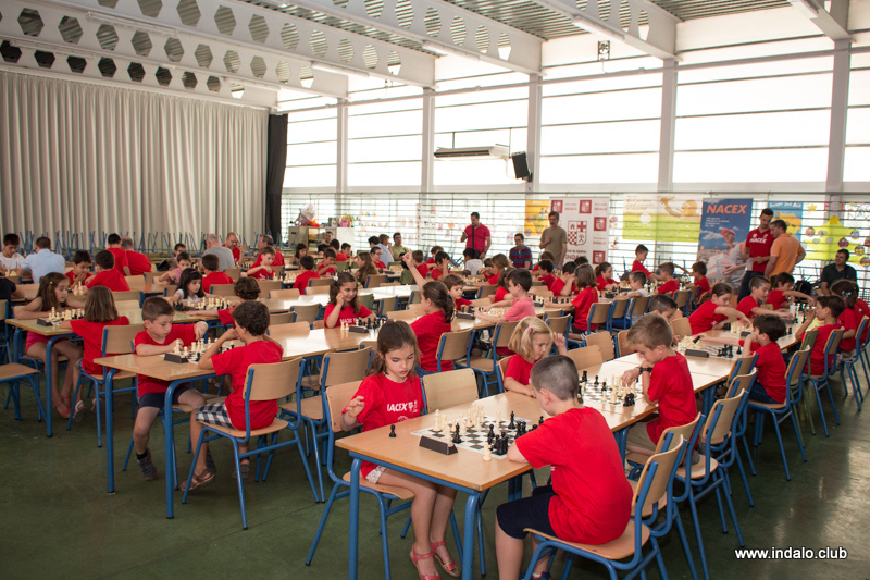 Torneo Fin de Curso de la escuela municipal de ajedrez del Club 2017