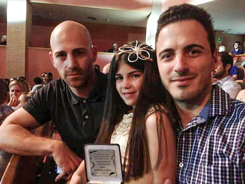 Alba premiada en la Gala de los Juegos Deportivos Municipales 2016