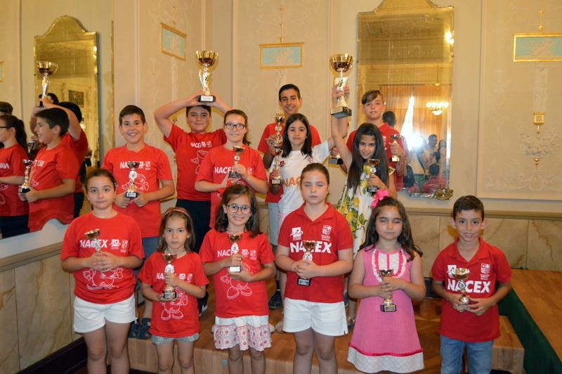 Entrega de trofeos de los XXXII Juegos Deportivos Municipales de Ajedrez de Almería
