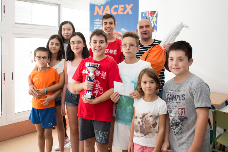 Premio, trofeo y un jamón en Nijar