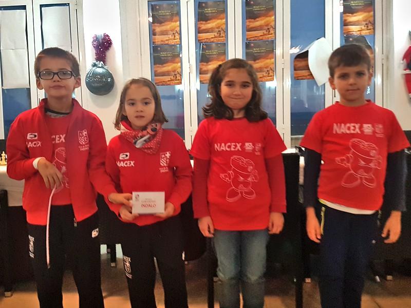 Gran nivel provincial en el IV Torneo de Escuelas de Roquetas de Mar