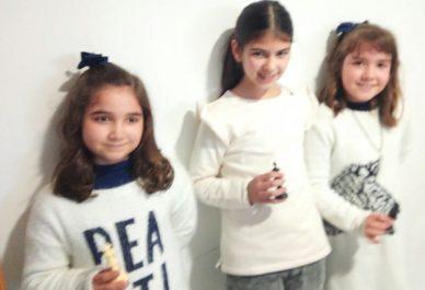 Alba, Sandra e Irene las campeonas del sub 10 de los Juegos Deportivos Municipales 2018