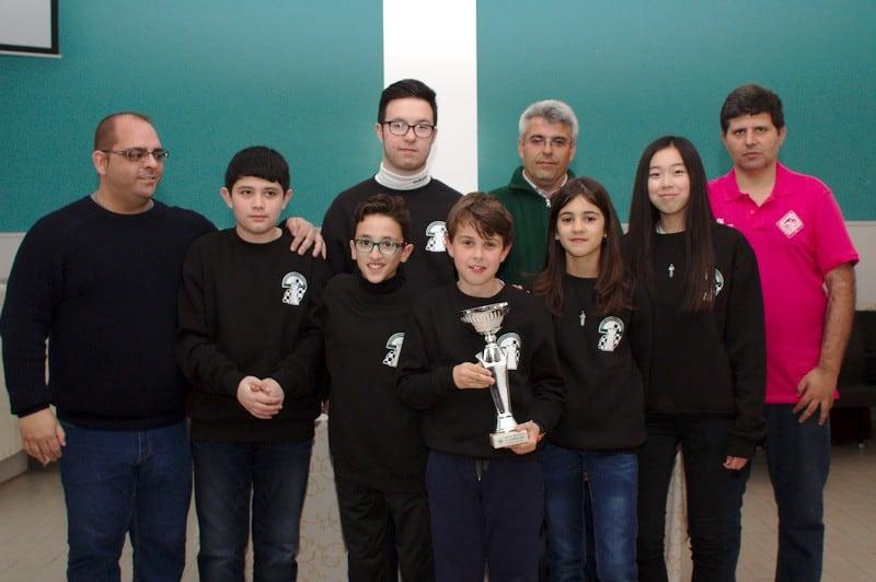 Aitana, Ciro y Laura terceros en la Copa de Andalucía