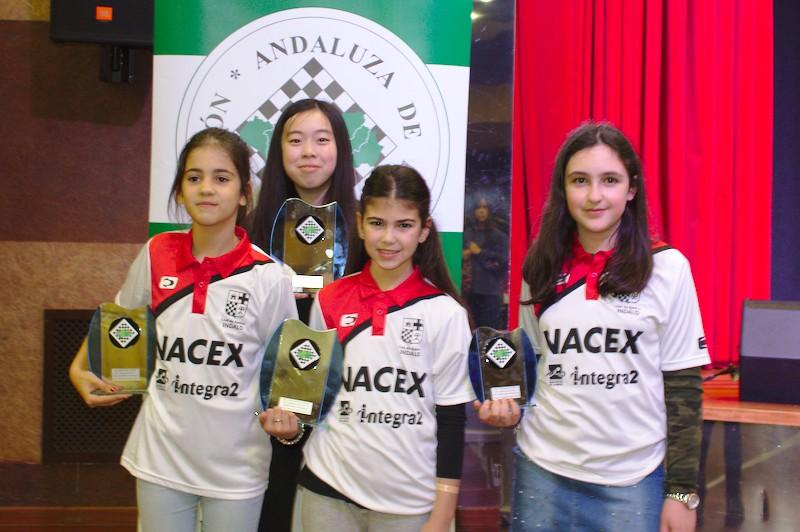 4 podios y buenos momentos en el Andaluz de Huelva 2018