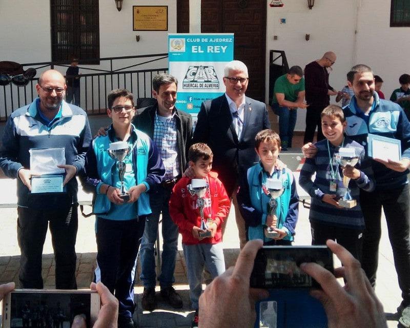 David y Jose Manuel campeones sub10 y sub12 del Torneo de Huercal