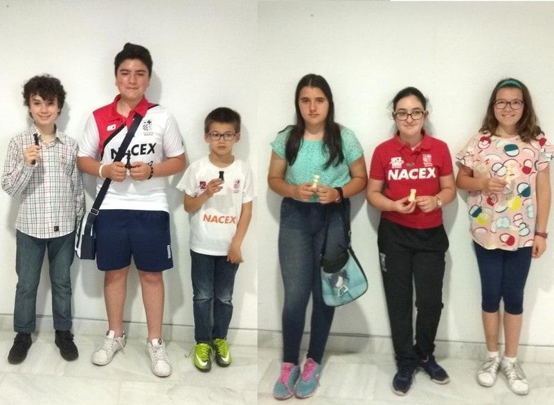 Alberto y Claudia campeones del sub 14 de los Juegos Deportivos Municipales 2018