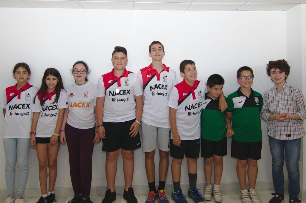 Dos equipos del Club campeones y subcampeones en el municipal por equipos 2018