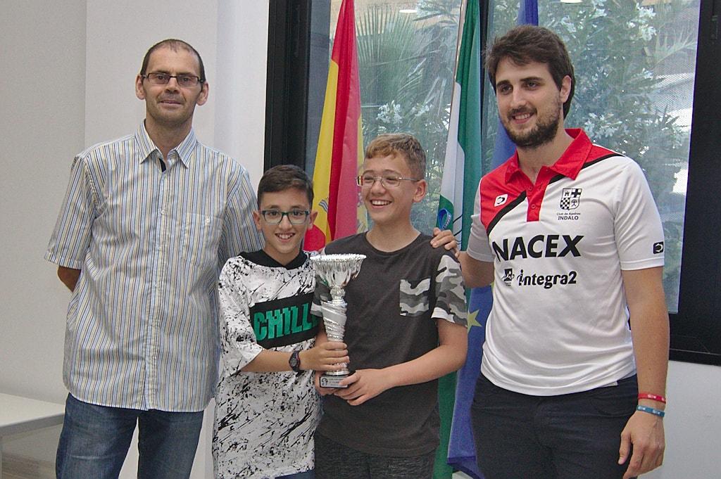 Indalo Nacex tercero en la Copa Provincial de Almeria