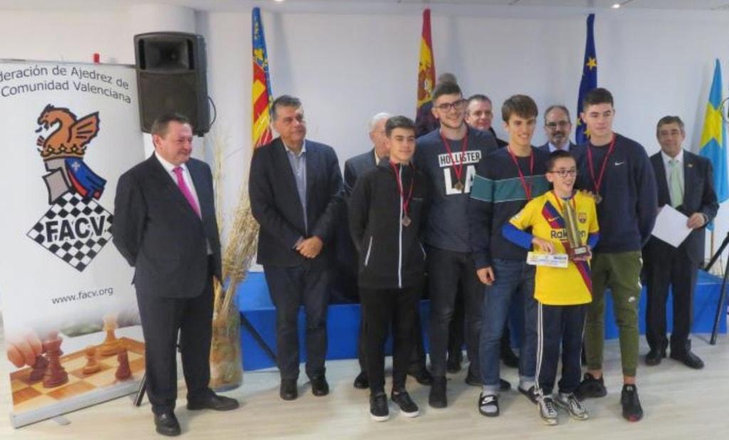 Ciro campeón de la XII Copa de Espana por Equipos Sub-18
